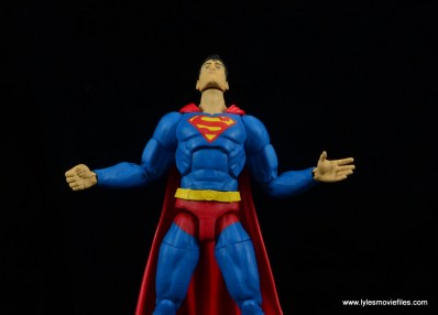 dc essentials superman review - looking up