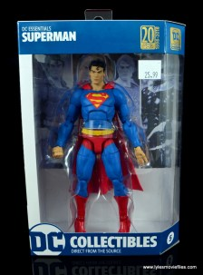 dc essentials superman review -package front