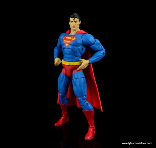 dc essentials superman review - power pose