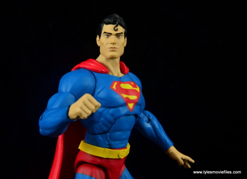 dc essentials superman review -side shot