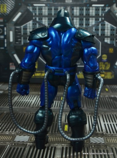 marvel legends baf apocalypse figure review - rear