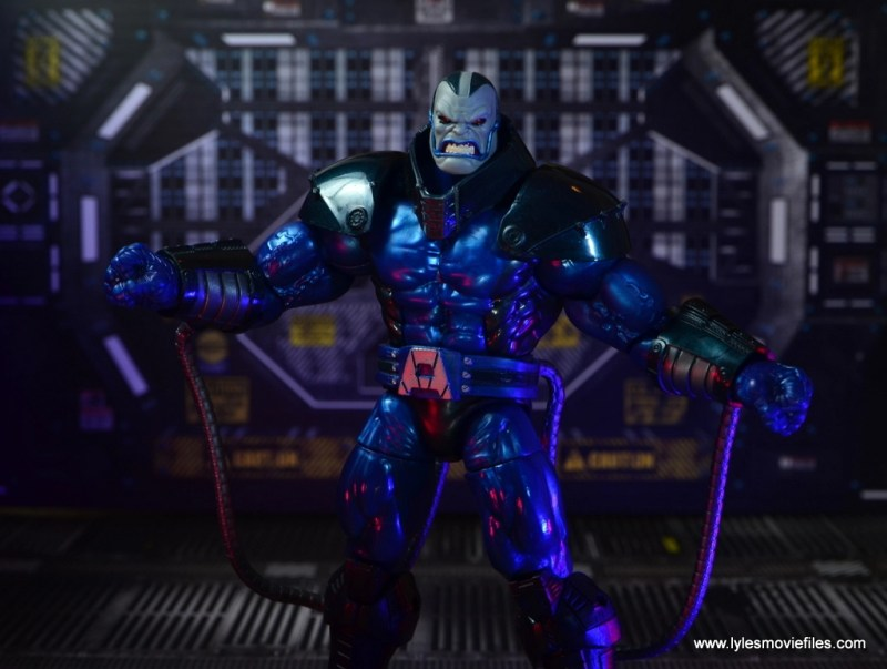 marvel legends baf apocalypse figure review - wide pic