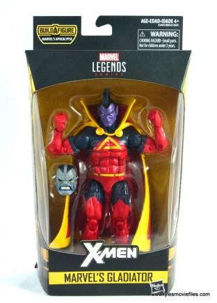 marvel legends gladiator figure review - package front