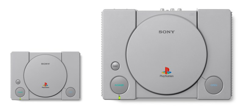 playstation classic and original