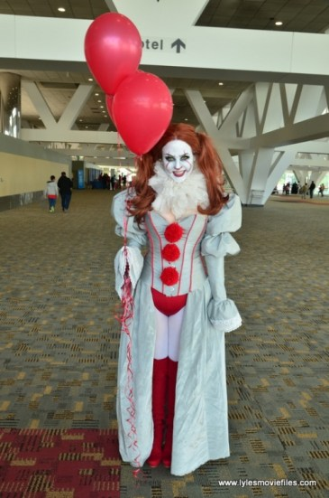 Baltimore Comic Con 2018 cosplay - Pennywise 2