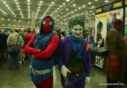 Baltimore Comic Con 2018 cosplay -Scarlet Spider-Man and The Joker