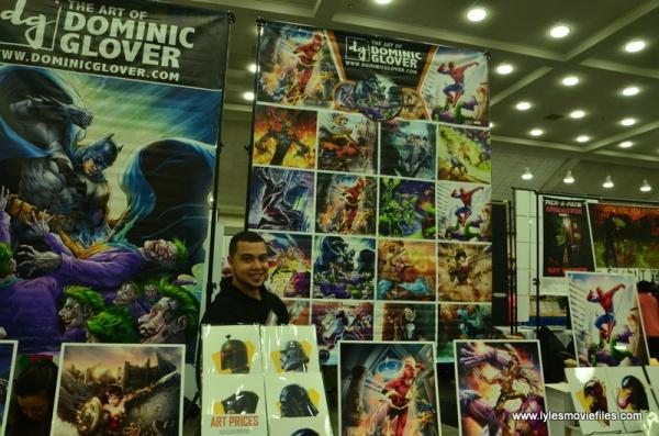 Baltimore Comic Con 2018 creators -Dominic Glover