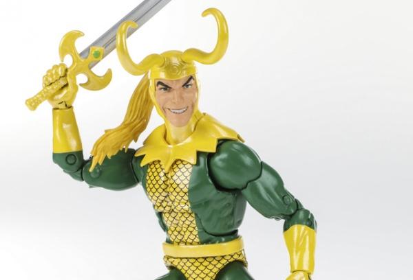 Marvel Legends Series 6-inch Loki Figure paris comic con