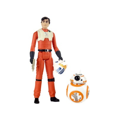 STAR WARS RESISTANCE 3.75-INCH POE DAMERON & BB-8 Figure 2-Pack (1)