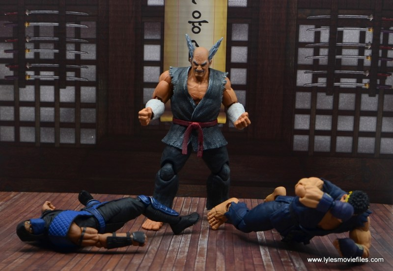 Storm Collectibles Heihachi Mishima figure review -gloating over sub-zero and ryu