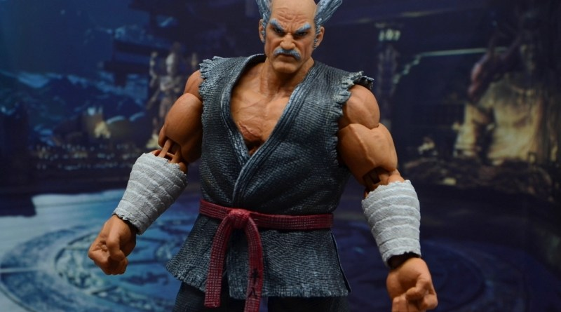 Storm Collectibles Heihachi Mishima figure review -main pic