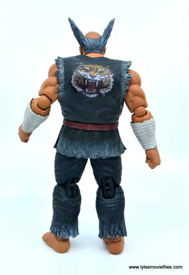 Storm Collectibles Heihachi Mishima figure review -rear