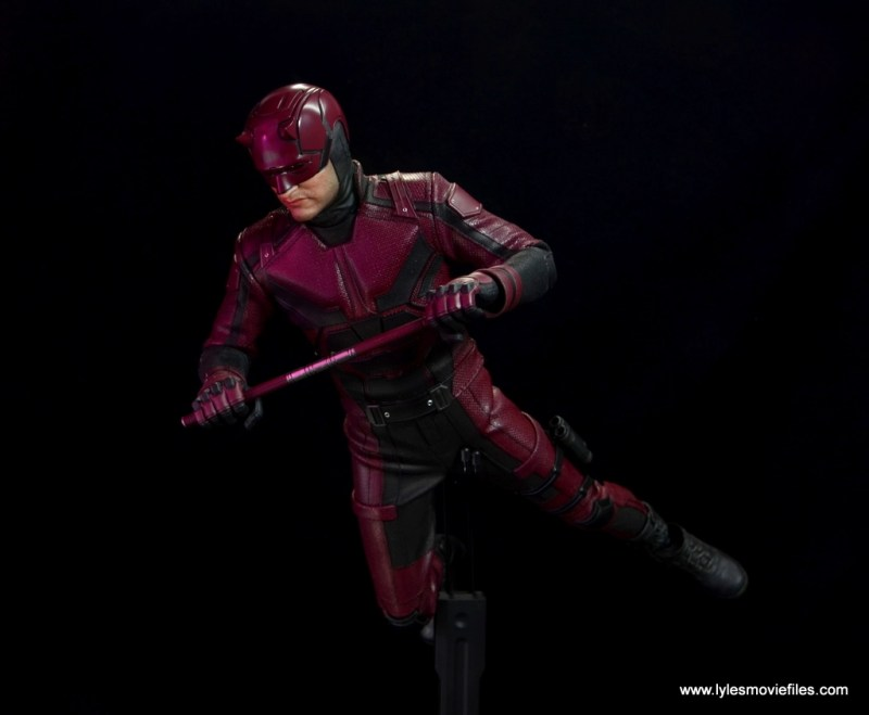 hot toys daredevil figure review - leaping into action