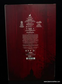 hot toys daredevil figure review - package rear