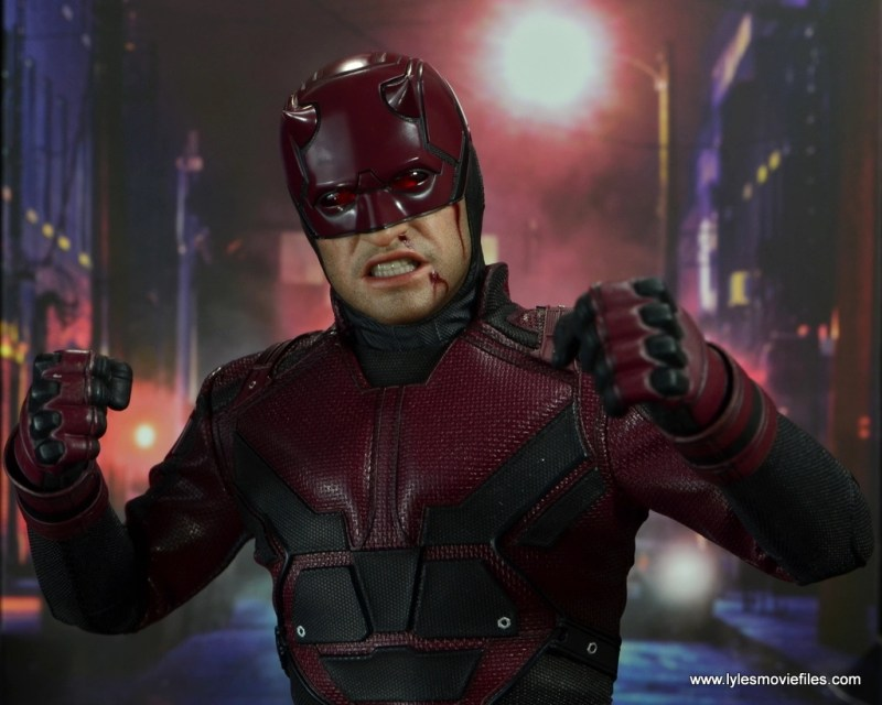 hot toys daredevil figure review - ready for battle