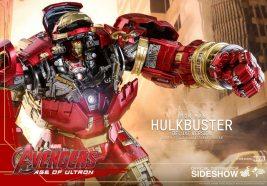 hot toys hulkbuster iron man deluxe version figure - open cockpit