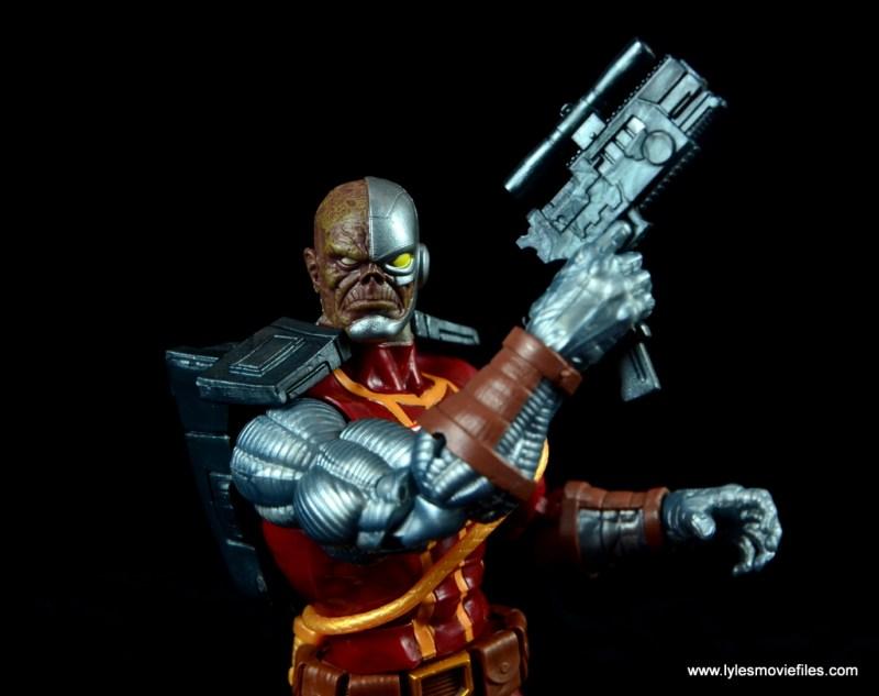 marvel legends deathlok figure review - blaster up