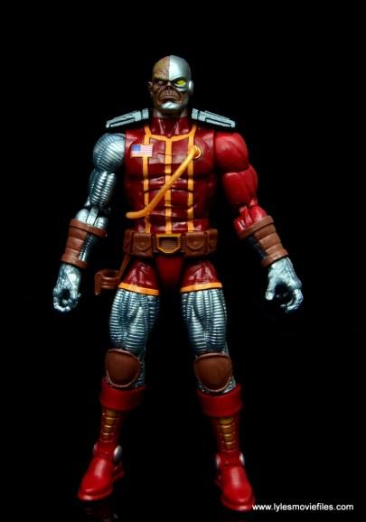 marvel legends deathlok figure review - front