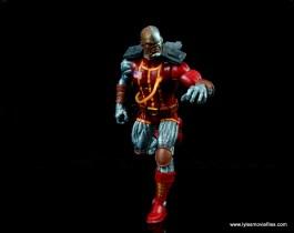 marvel legends deathlok figure review - on the move