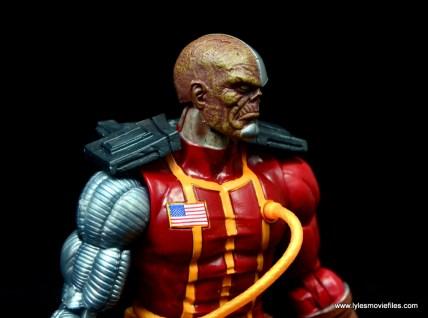 marvel legends deathlok figure review - right side detail