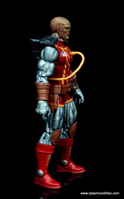marvel legends deathlok figure review - right side