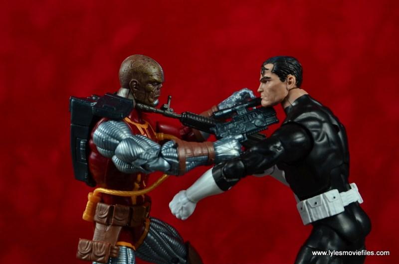 marvel legends deathlok figure review - vs punisher