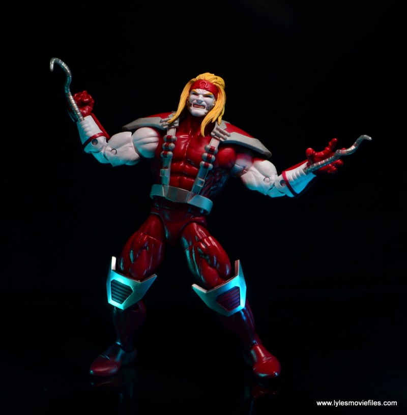 marvel legends omega red figure review - raging out