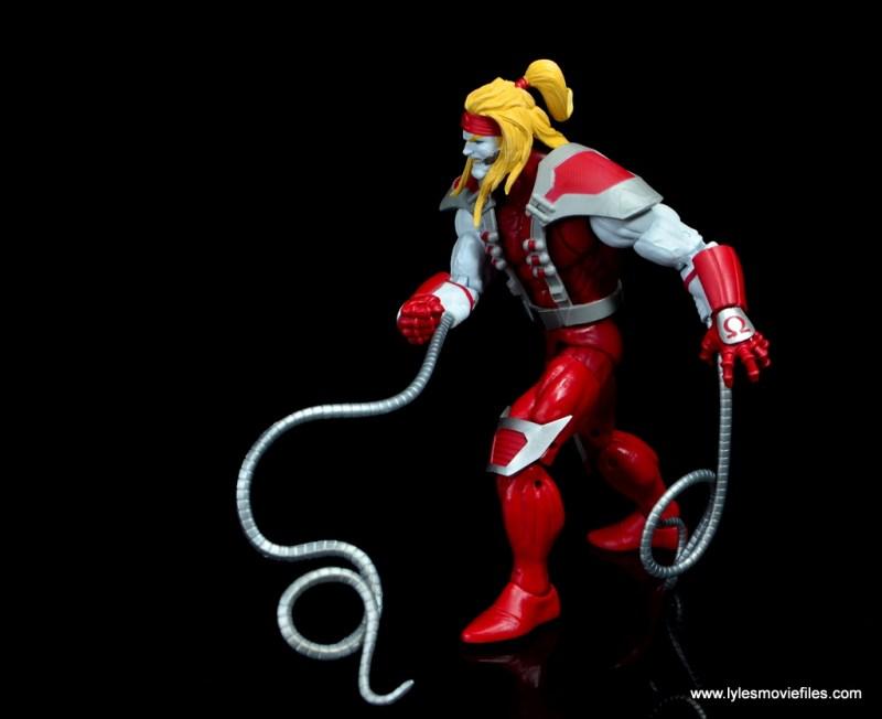 marvel legends omega red figure review - walking