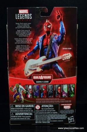 marvel legends spider-punk figure review - package rear