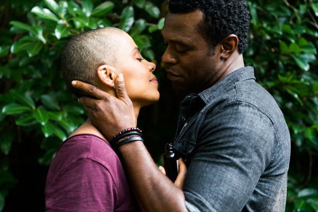 nappily ever after review - sanaa lathan and lyriq bent