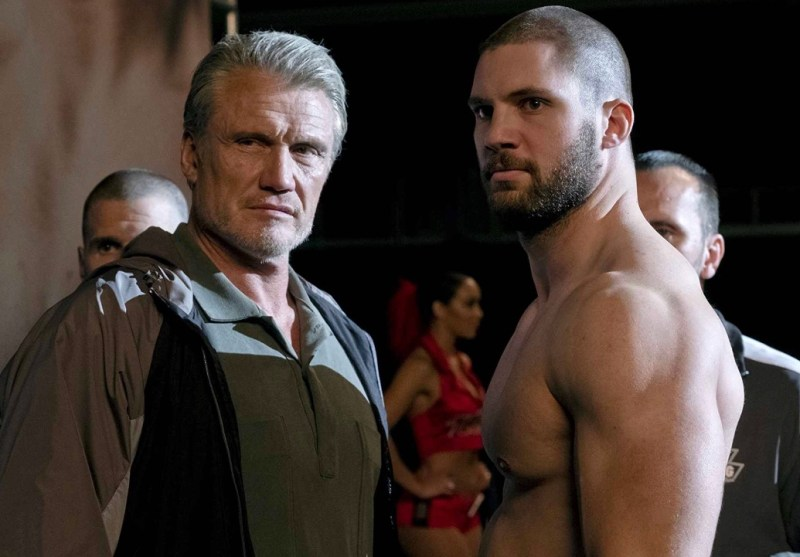 creed II movie review - Ivan and viktor drago