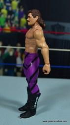 WWE Flashback Basic Rick Rude figure review - left side