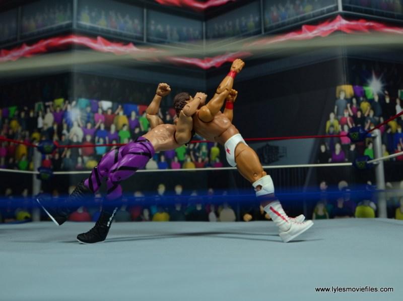 WWE Flashback Basic Rick Rude figure review - rude awakening to tito santana