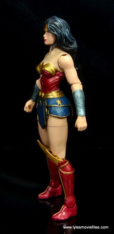 dc multiverse wonder woman figure review -left side