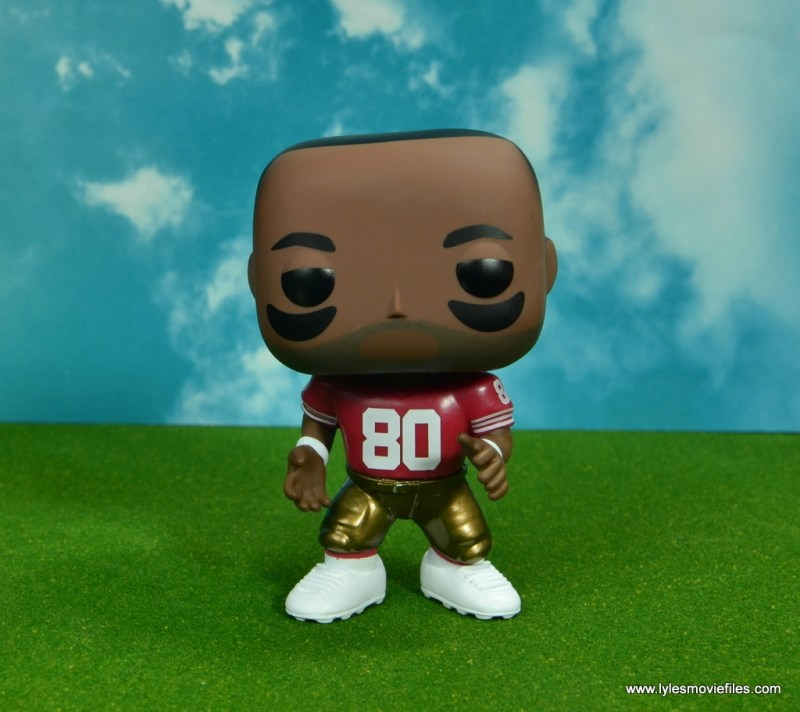 funko pop jerry rice figure review - wide shot