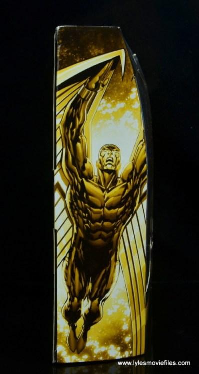 marvel legends archangel figure review - package side
