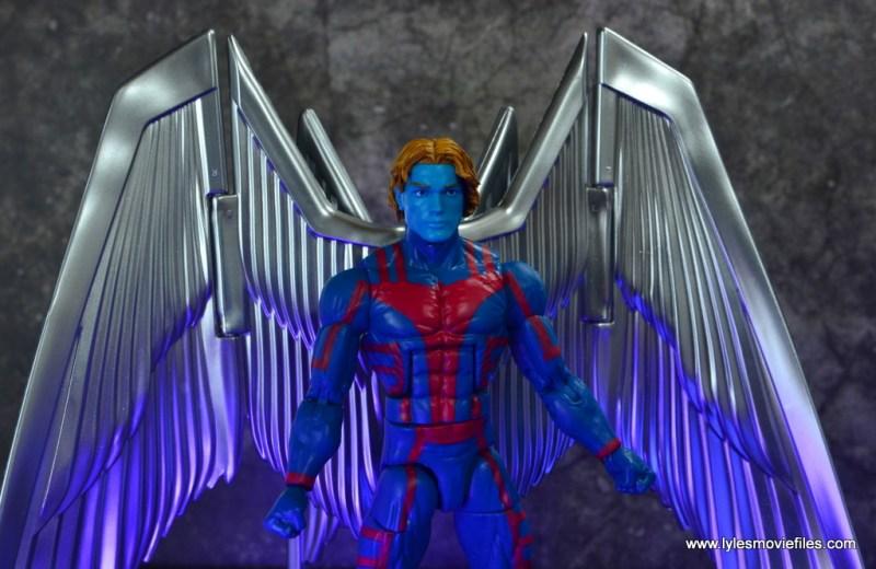 marvel legends archangel figure review - peaceful head sculpt