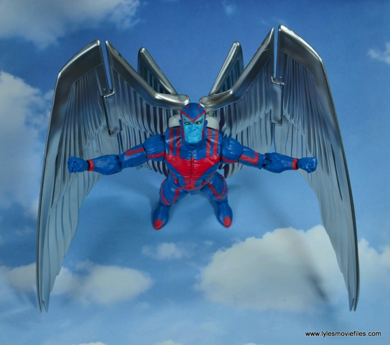 marvel legends archangel figure review - soaring