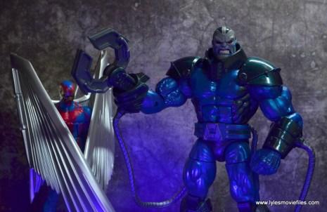 marvel legends archangel figure review - with apocalypse