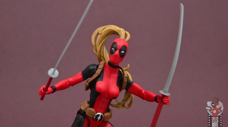 marvel legends lady deadpool figure review - main pic