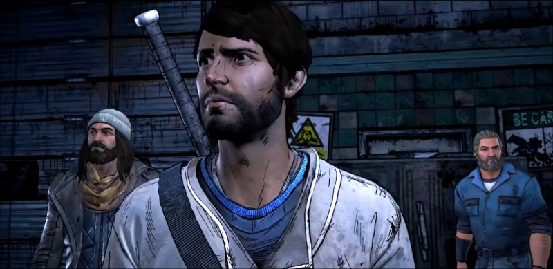 the walking dead a new frontier review - jesus, javi and tripp