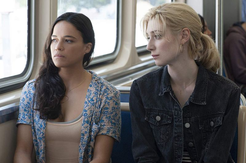 widows movie review - michelle rodriguez and elizabeth debicki