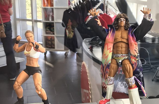 wwe ultimates ronda rousey and ultimate warrior
