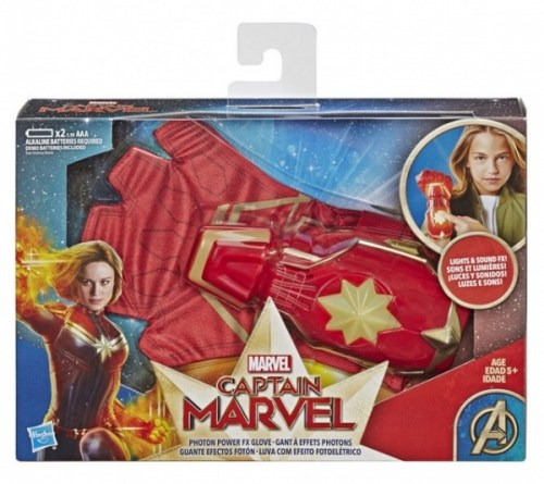 captain marvel role play photon power fx glove