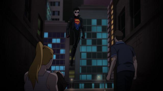 The Reign_of_the_Supermen - superboy arrives
