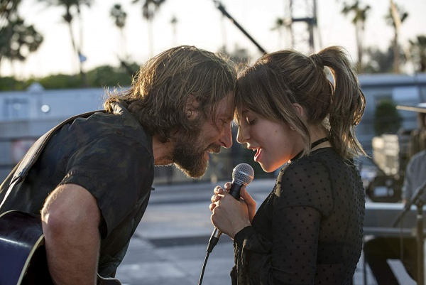 a star is born movie review - bradley cooper and lady gaga singing