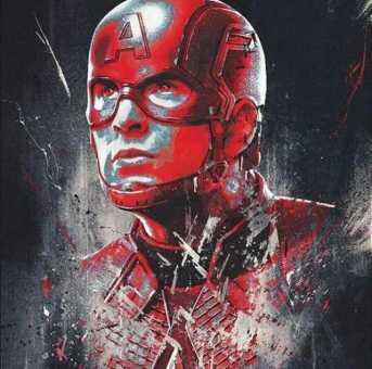 avengers endgame promo art - captain america