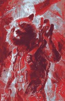 avengers endgame promo art - rocket raccoon