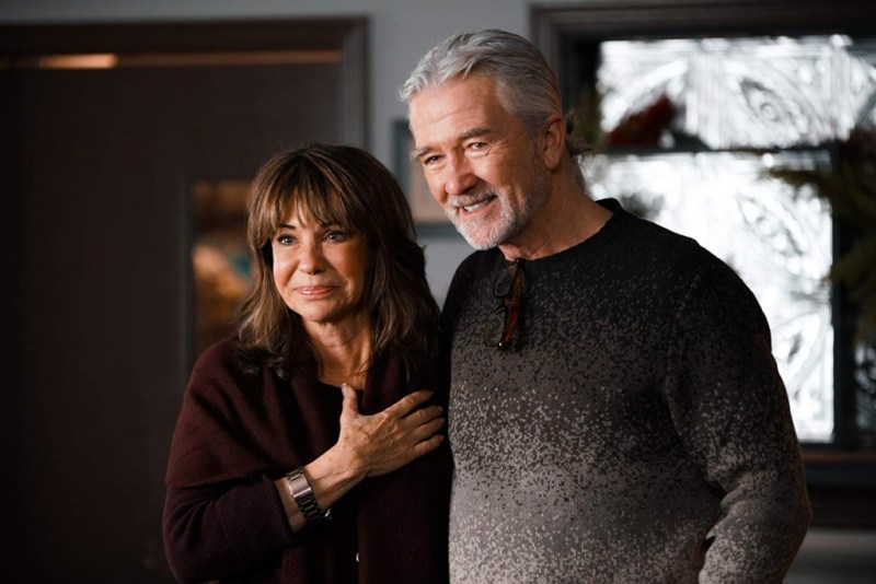 christmas with a view -jess walton and patrick duffy