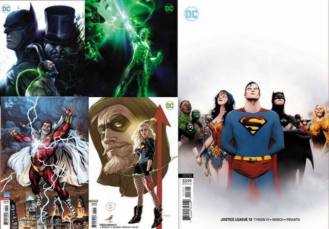 dc comics 12/5/18